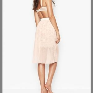 Victoria's Secret Tulle Skirt with Lace Skirt LG